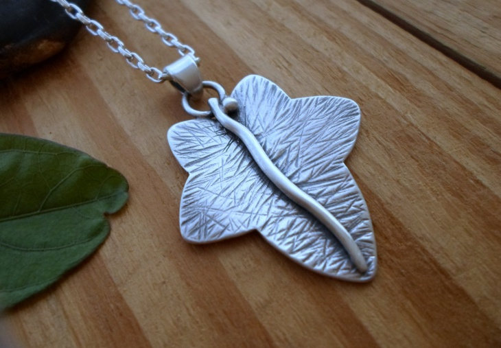Artisan Organic Leaf Jewelry