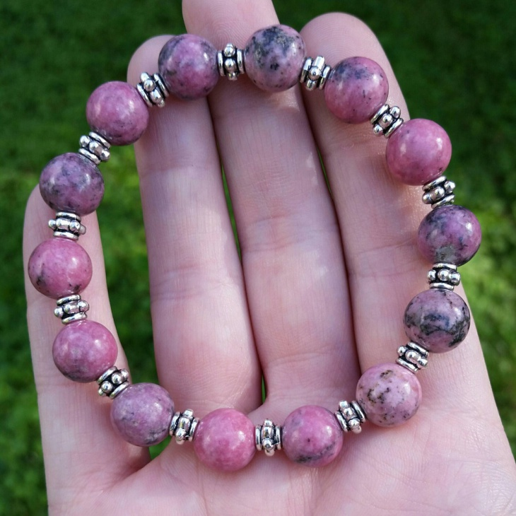 Rhodonite Beaded Jewelry