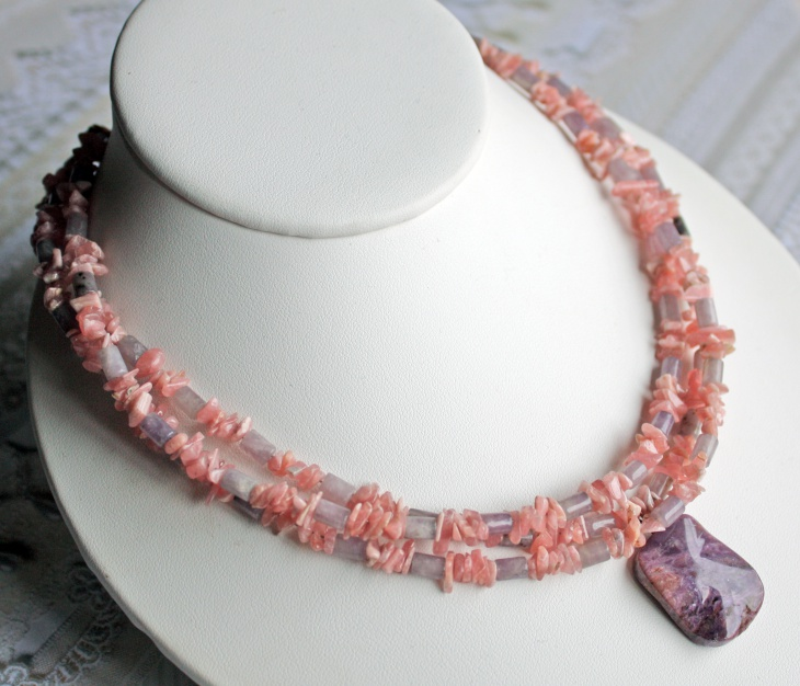 Unique Rhodonite Jewelry