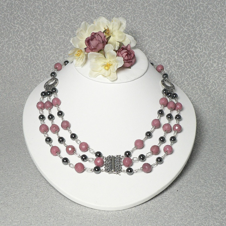 Layered Rhodonote Jewelry