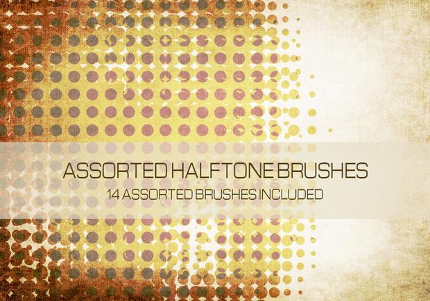 Assorted Halftone Brushes