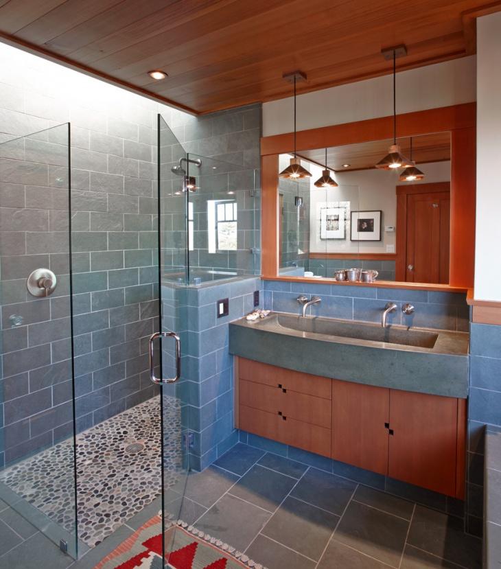 Curbless Shower Floor Design
