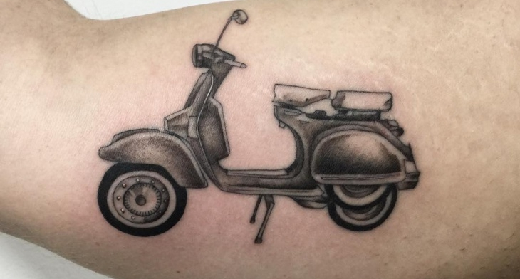 18 motorcycle tattoo designs ideas design trends for Crazy train tattoos