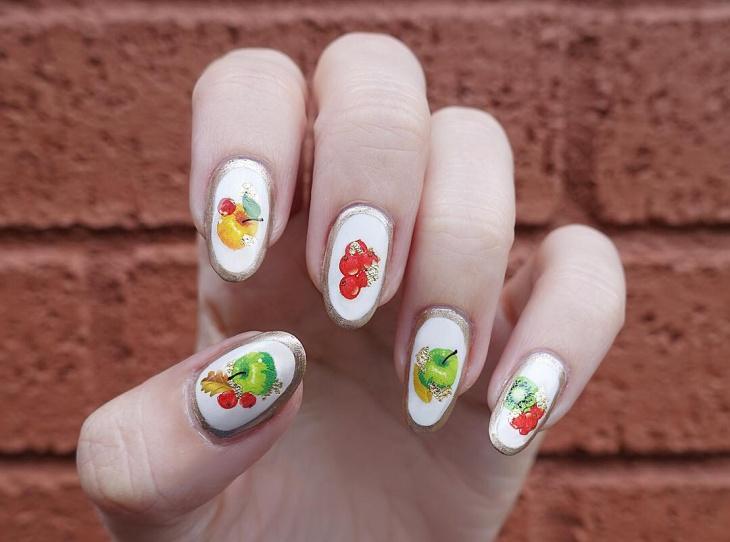 Awesome Fruit Nails Manicure