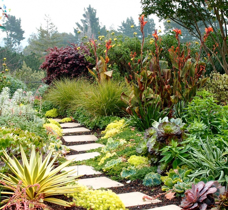 18 Succulent Garden Designs Ideas Design Trends - how to design a succulent garden