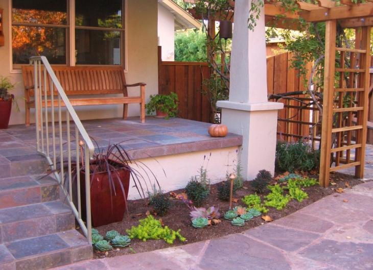 Front Door Succulent Garden