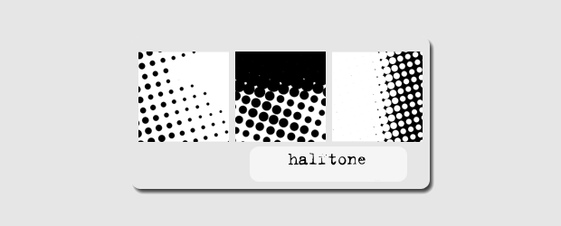 Simple PS Halftone brushes