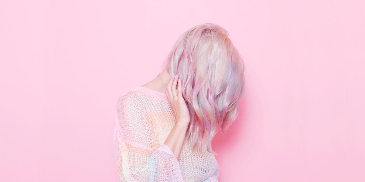 Pastel Rainbow Opal Hair