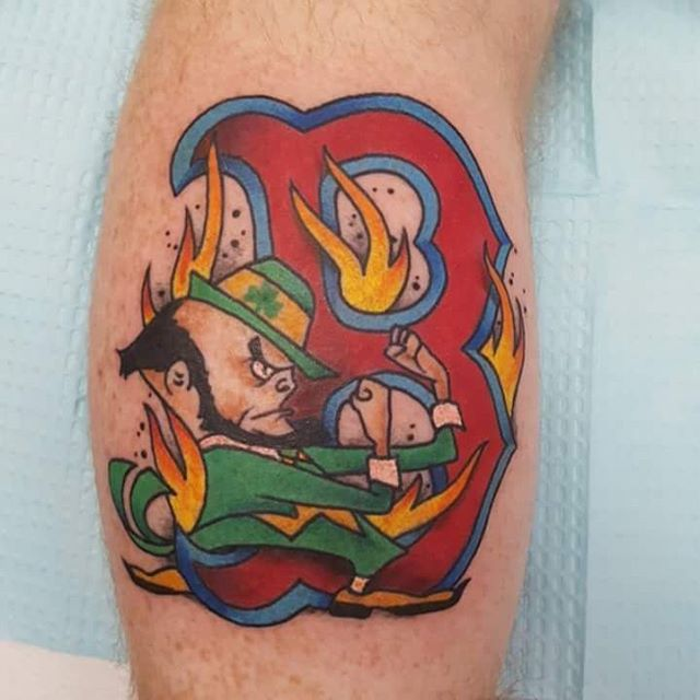 Funny Firefighter Tattoo