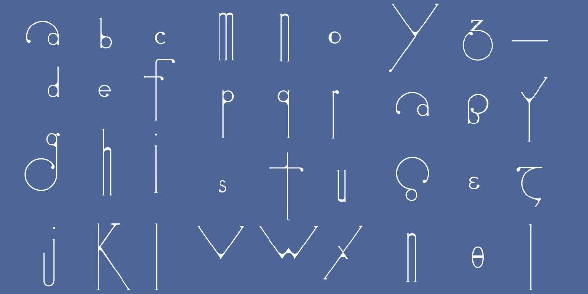 futuracha font