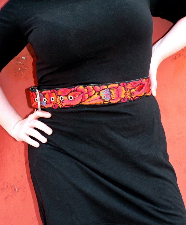 Embroidered Belts for Women