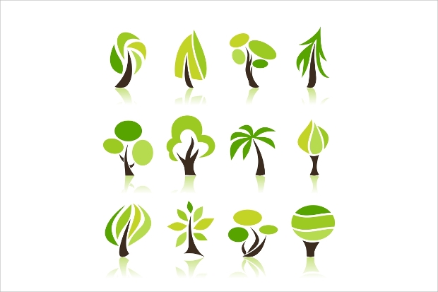 simple tree icons1