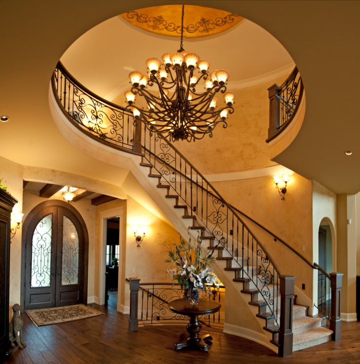 Curved Steel Staircase Idea