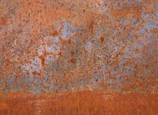 rusty steel metal surface texture