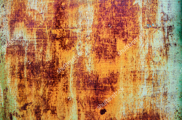 abstract corroded colorful rusty metal texture