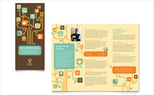 Tri-Fold Service Brochure Design
