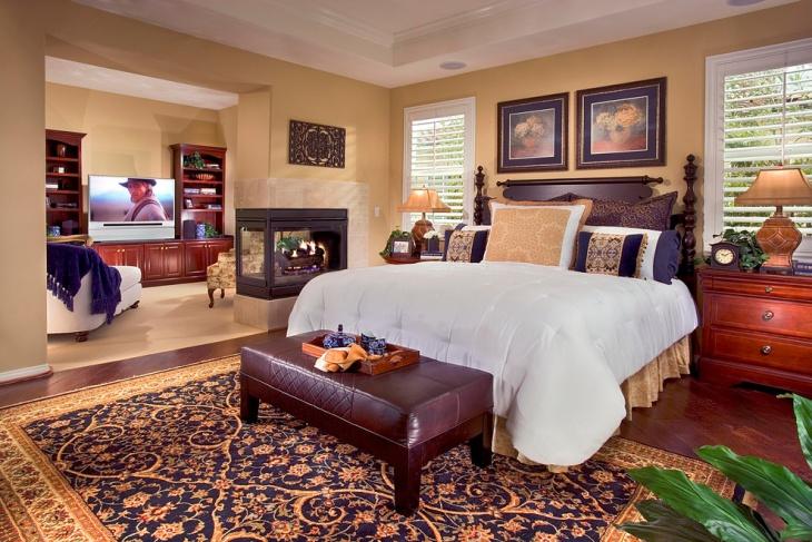 Leather Bedroom Bench Design