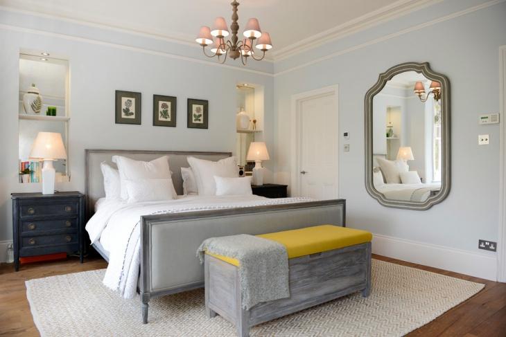 contemporary bedroom bench