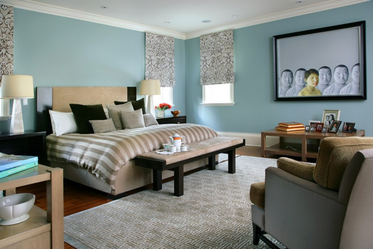 Master Bedroom Bench Design