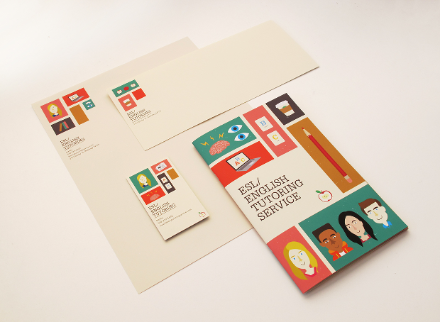 English Tutoring Service Brochure