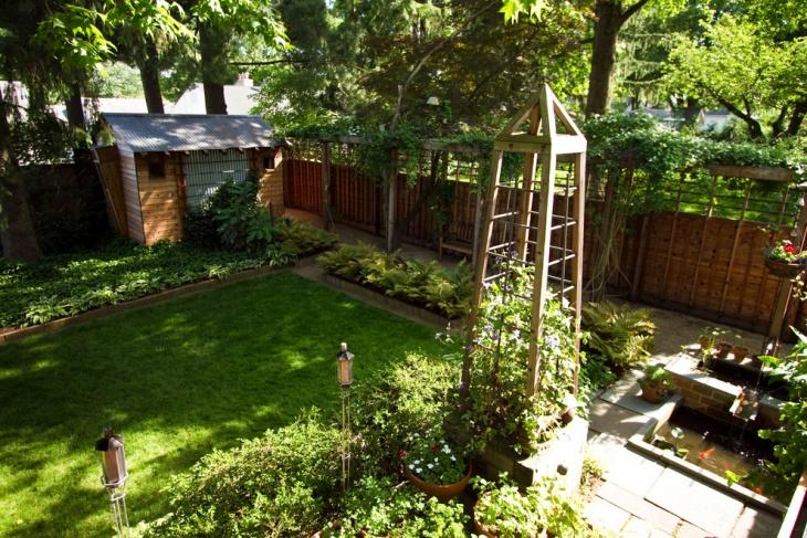 Trendy Garden Trellis Design