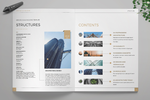 structures architecture magazine design