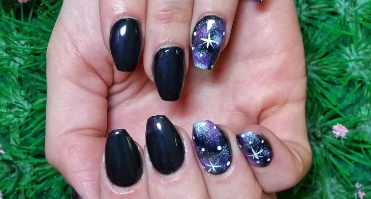 21 Galaxy Nail Art Designs Ideas Design Trends Premium Psd