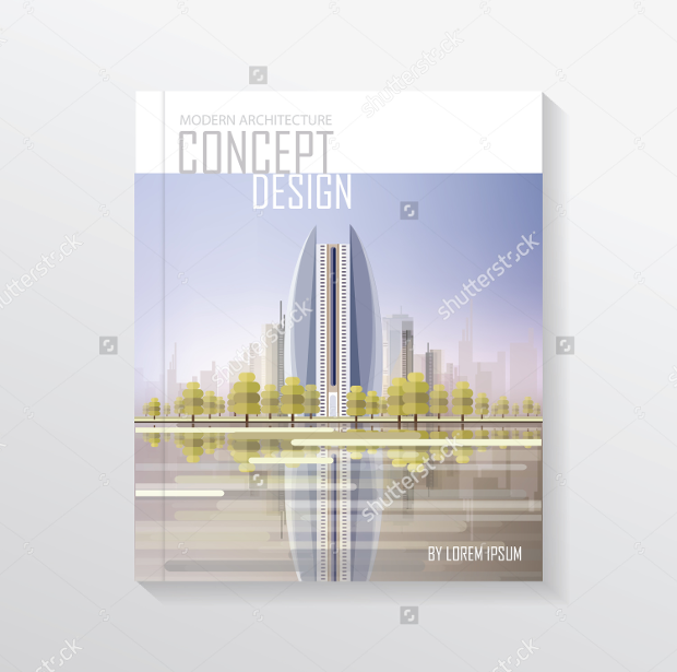 19 architecture design magazines free psd eps ai for Modern architecture concept