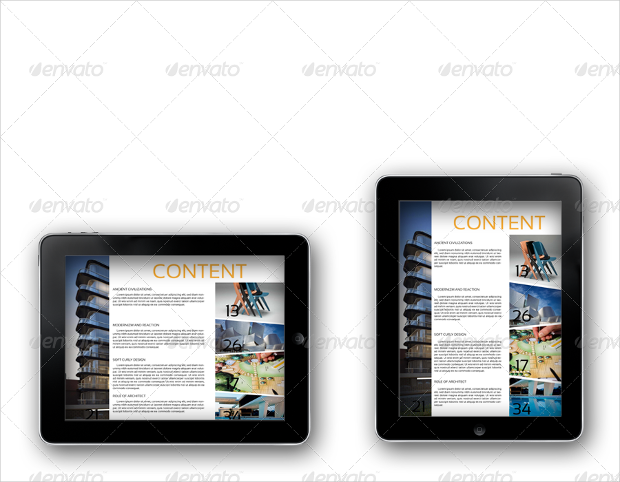ipad tablet architecture magazine