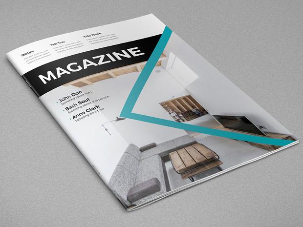 modern minimal magazine