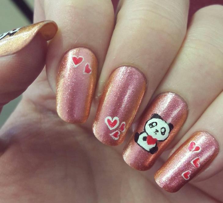 Long Panda Nail Design - 21+ Panda Nail Art Designs, Ideas Design Trends - Premium PSD
