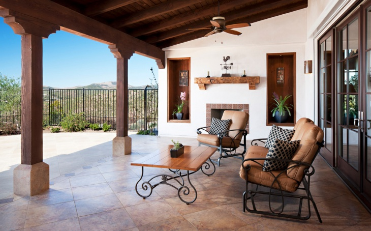 Mediterranean Asian Patio Design