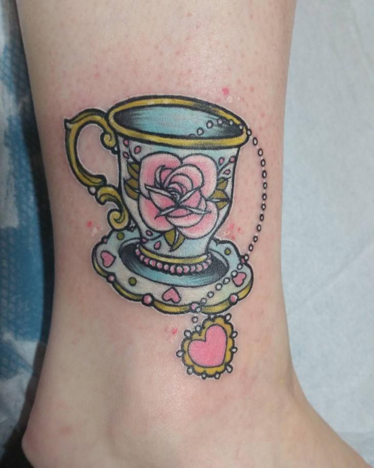 21 teacup tattoo designs ideas design trends premium psd vector downloads. Black Bedroom Furniture Sets. Home Design Ideas