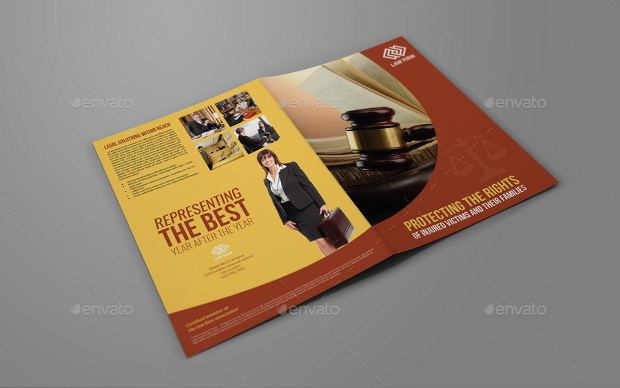 Bifold Law Firm Brochure