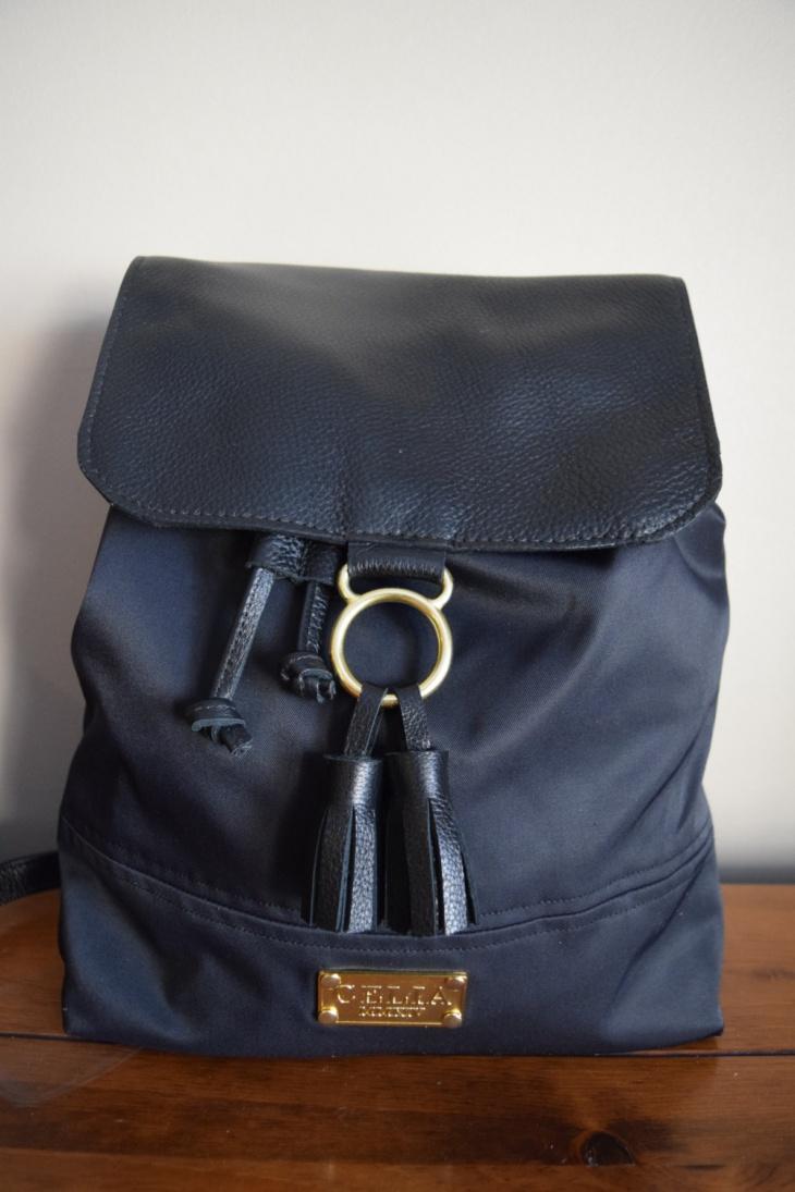 handmade drawstring handbag