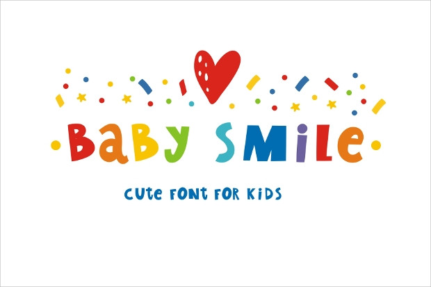 Baby Smile Font