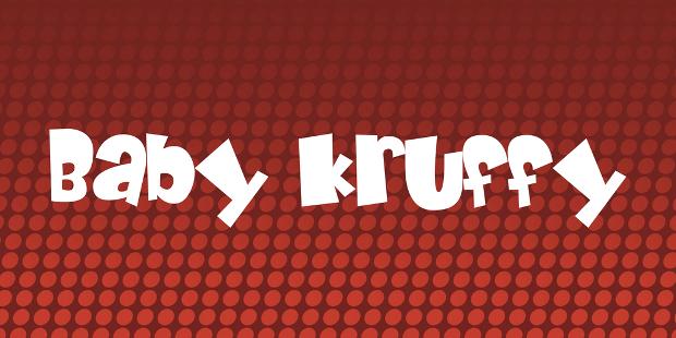 Baby Kruffy Font