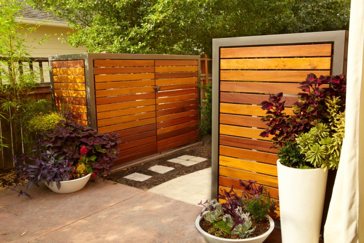beautiful wooden outdoor storages