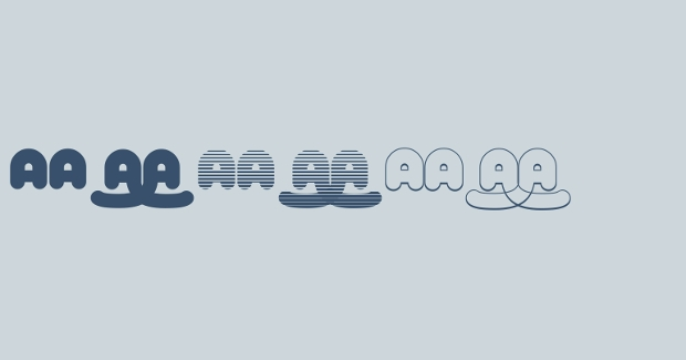 Roller Baby Font