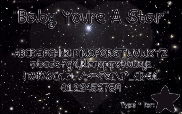 Baby Star Font