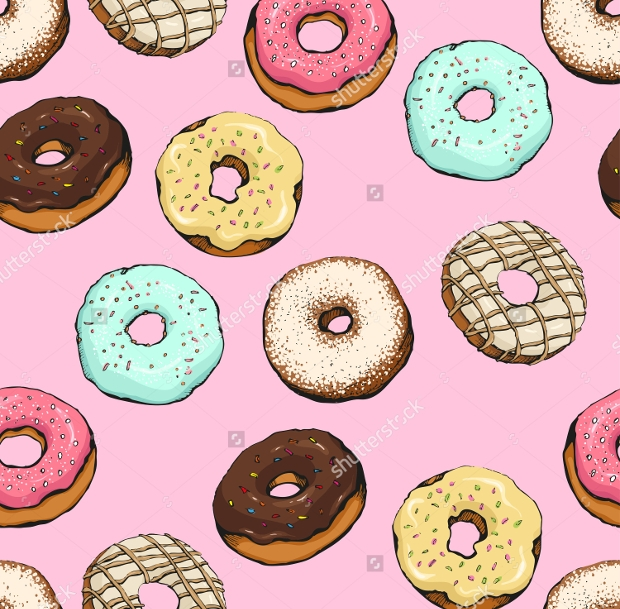 Tasty Donuts Vector Set