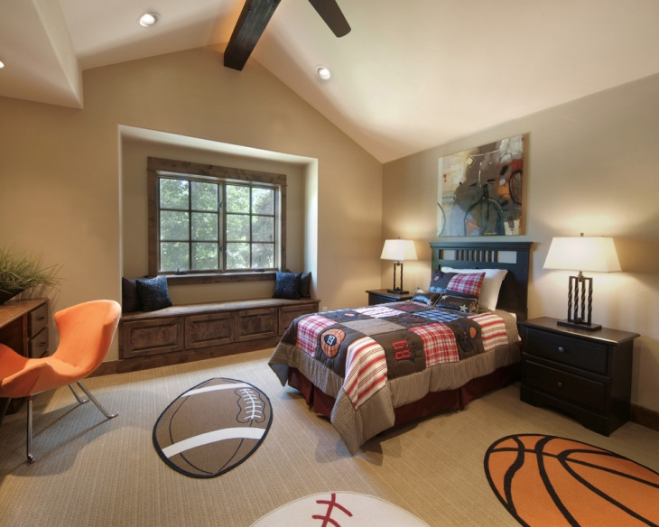 Sports Bedroom Decorating Ideas 17 Sports Bedroom Designs Ideas  Design Trends  Premium Psd .