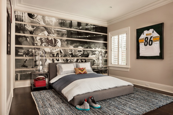 Boy Sports Bedroom Idea