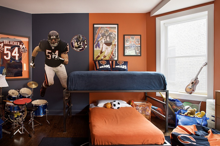 Sports Bedroom Furniture