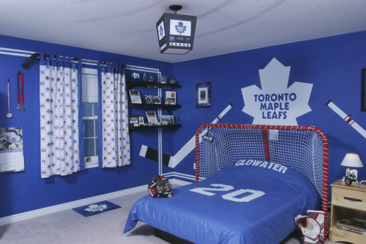 Hockey Style Sport Bedroom