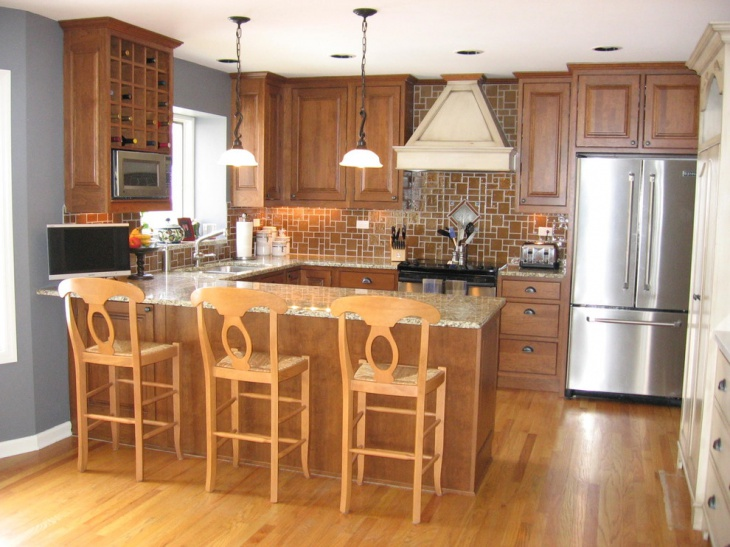 18 small u shaped kitchen designs ideas design trends for Traditional kitchen ideas 2016