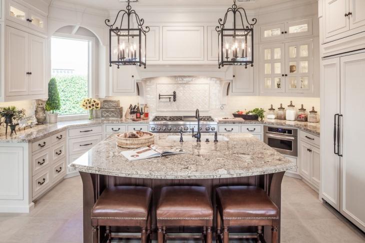 renovation of small u shaped kitchen