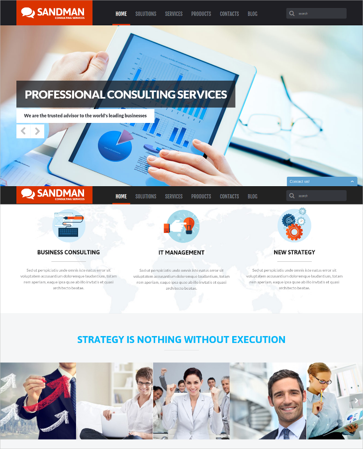 Consulting Services - Business WordPress Theme