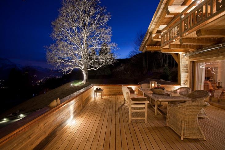 Deck Wall Lighting