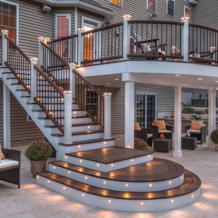 Stair Deck Light Design